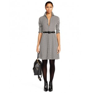 """Austin"" Houndstooth Dress"