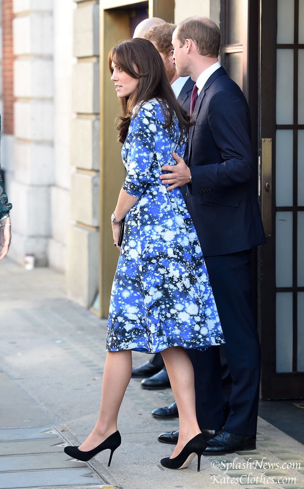 Catherine Duchess Of Cambridge, Prince William And Prince Harry visit BAFTA in piccadilly,london