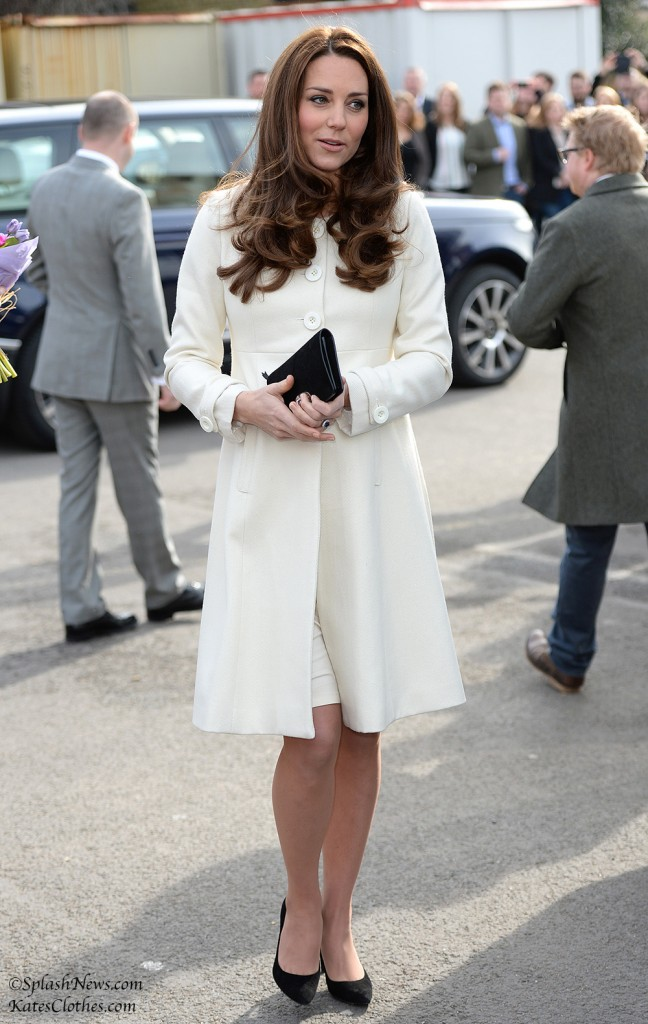 Duchess Kate at Downton Abbey