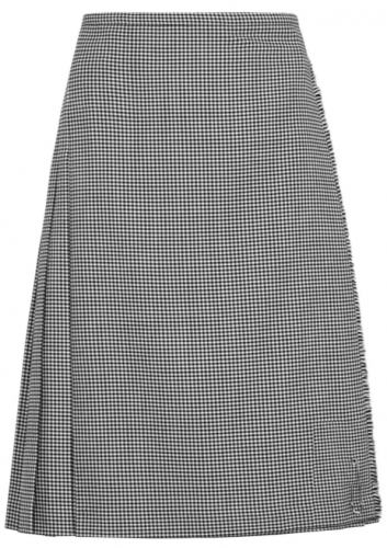 Classic Houndstooth Skirt