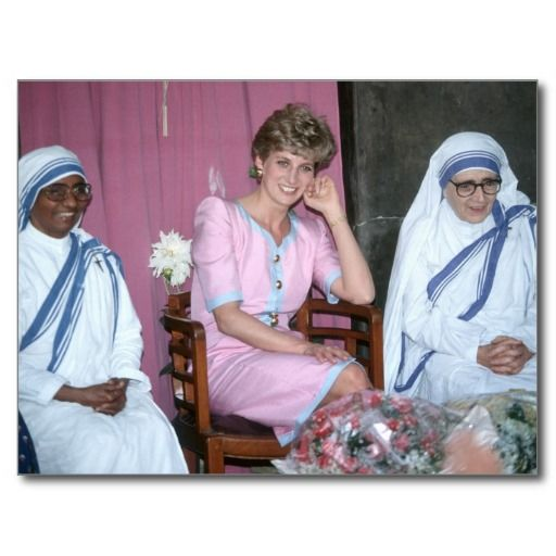 diana and mother teresa