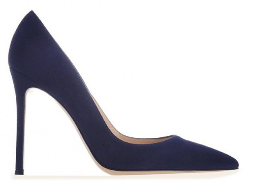 Gianvito Rossi Blue Pumps