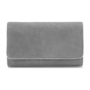 """Natasha"" Custom Grey Clutch"