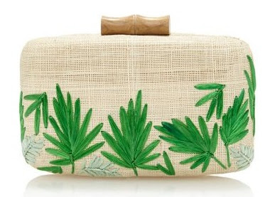 Makaha Palm clutch by KAYU from the Pre-Fall 2015 collection.