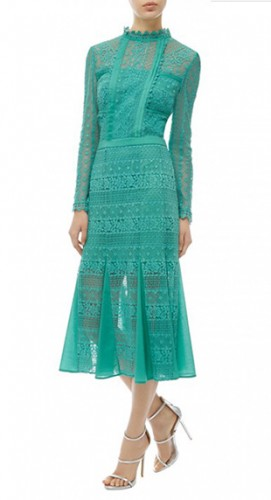 Desdemona Teal Lace