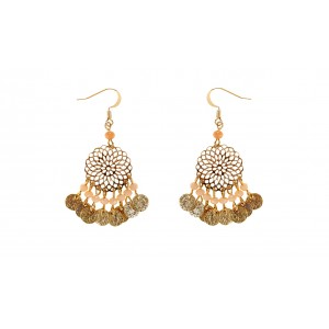 Filigree Bead Earrings