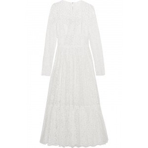 D&G Lace Peasant Dress