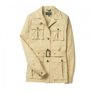 Multi-Pocket Safari Jacket