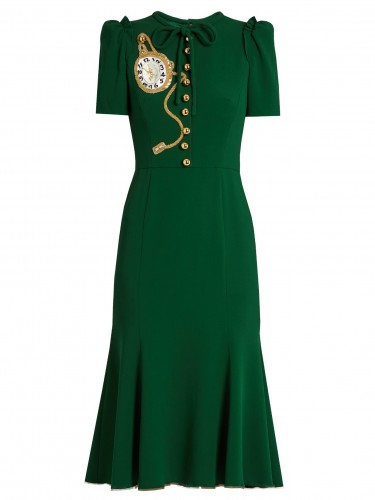 Pocket Watch Midi Dress