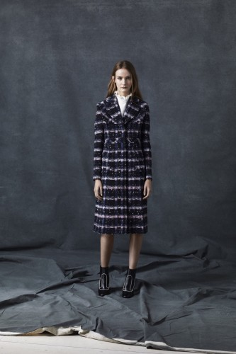 Erdem Tweed Coat