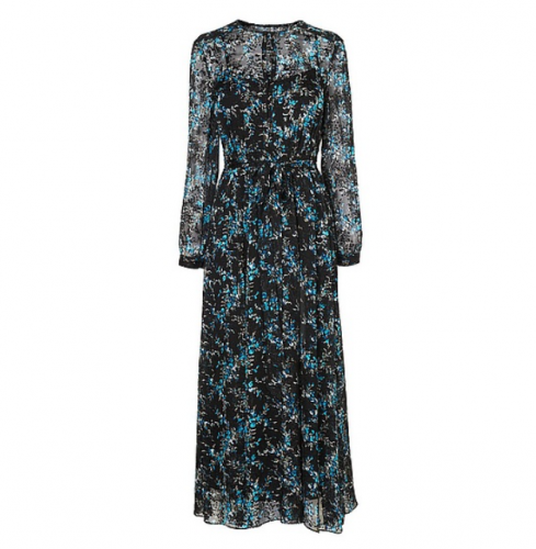 Cersei Evergreen Silk Dress