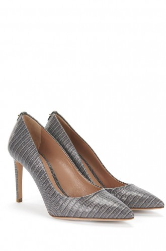 Anthracite Hugo Boss Heels