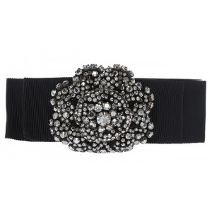 Crystal Bow Belt