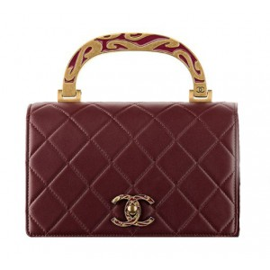 Calfskin Mini Chanel Bag