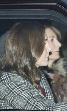 Leaving KP with Carole Middleton