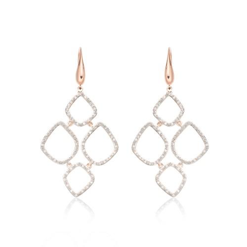 """""""Riva"""" Diamond Cluster Drops"""