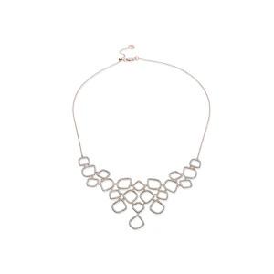 """Riva"" Diamond Cluster Bib Necklace"