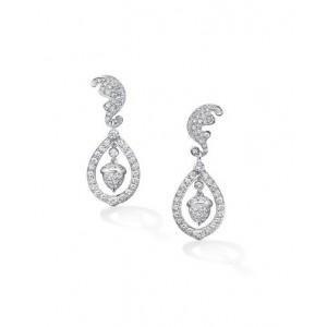 Diamond Oak & Acorn Wedding Drops