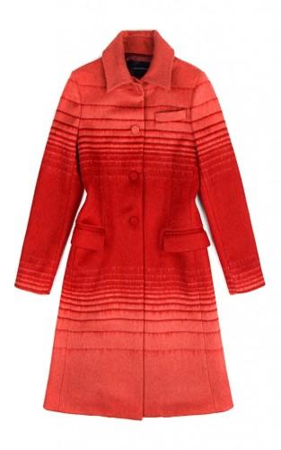 """""""Athena"""" Jacquard Mohair Coat"""