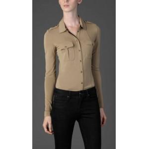 """Military Pocket"" Jersey Shirt"