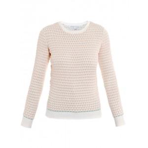 """Deborah"" Waffle Knit Sweater"