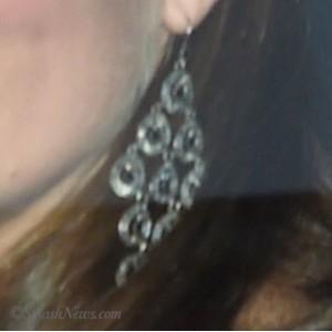 UFO Chandelier Earrings