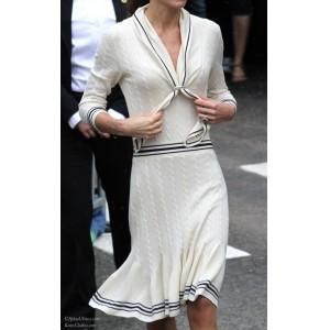 McQueen Sailor Sweater Dress