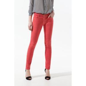 """Pop Slim Fit"" Coral Jeans"