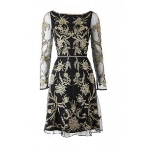 Modified Aster Flower Dress
