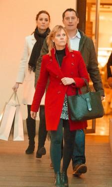 Shopping at John Lewis