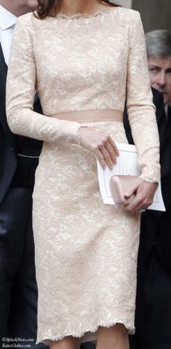 Bespoke Lace Sheath Dress
