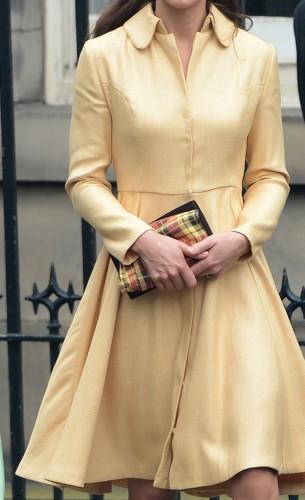 Bespoke Primrose Thistle Dress