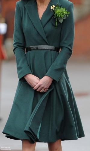 Flared Green Aldershot Coat
