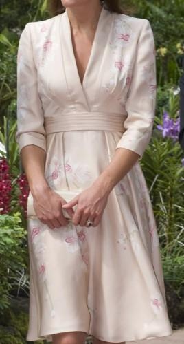 Bespoke Floral Kimono Dress