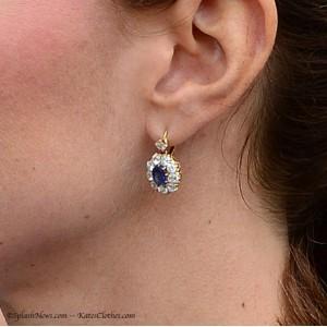 Sapphire & Diamond Drops