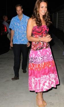 Evening Reception in Fuchsia Maxi Dress