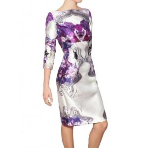 Kaleidoscope Sheath Dress