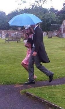 Alice St. John Webster's Wedding in Somerset