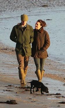 Beach Walk with William & Lupo