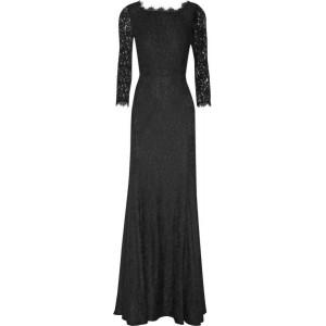 """Zarita"" Lace Evening Gown"