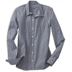 Fitted Boyfriend Gingham Shirt