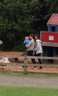 Kate and George at Bucklebury Farm Park