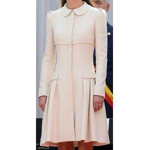 Cream Coat Dress