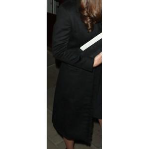 Black Fringe Coat