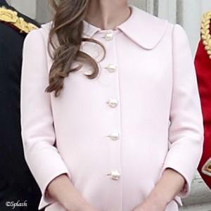 Custom Pink Maternity Coat