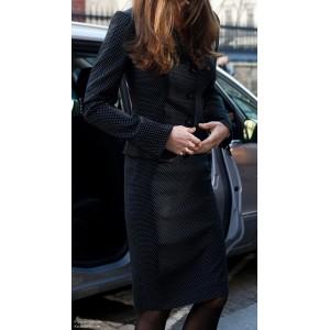 Polka Dot Suit Skirt