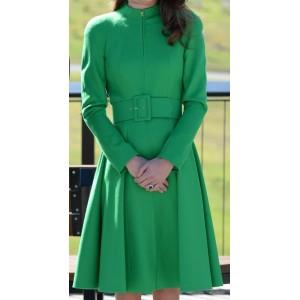 Evelyn + Lara Green Coat