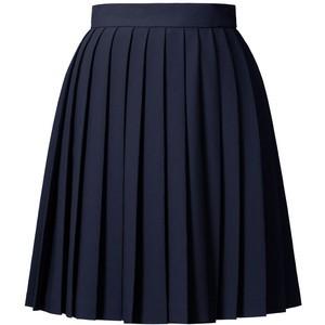 Solid Crepe Blend Skirt