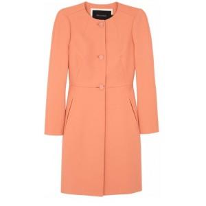 Apricot Cotton Twill Coat