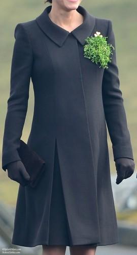 Brown Maternity Coat
